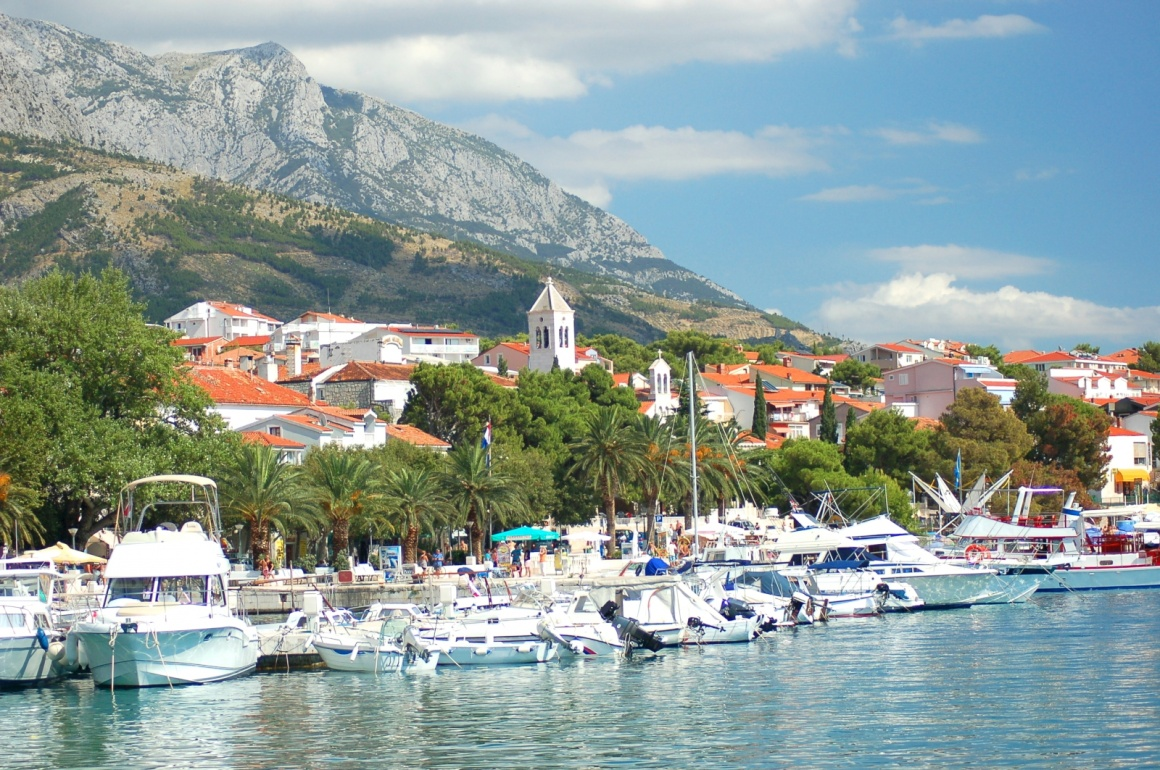 'Gorgeous marina in Baska Voda, Croatia' - Spalato