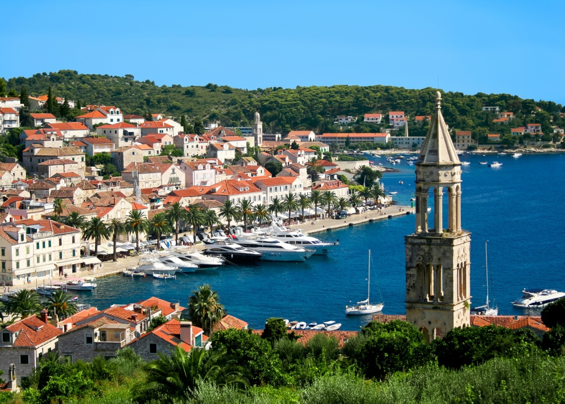 'Beautiful view of Hvar town on Hvar island, Croatia' - Spalato