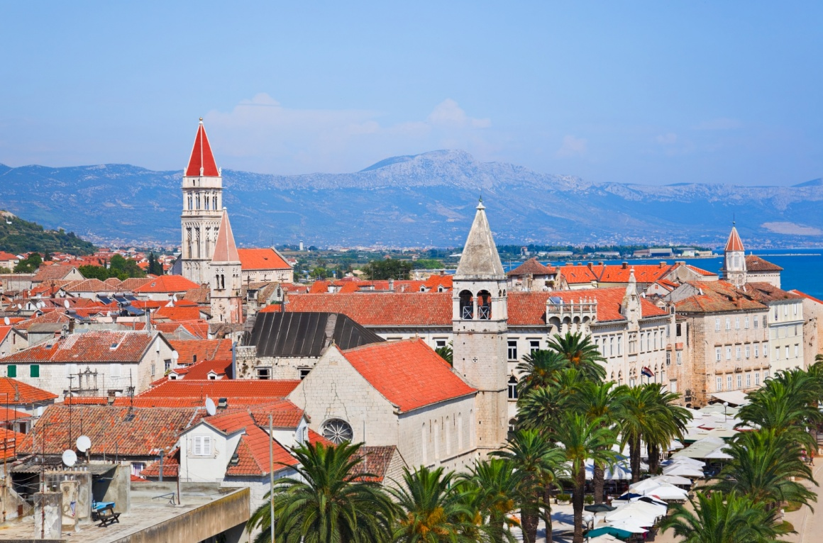 'Town Trogir in Croatia - architecture background' - Spalato